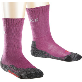 Falke TK2 Trekking Socken Kinder wildberry